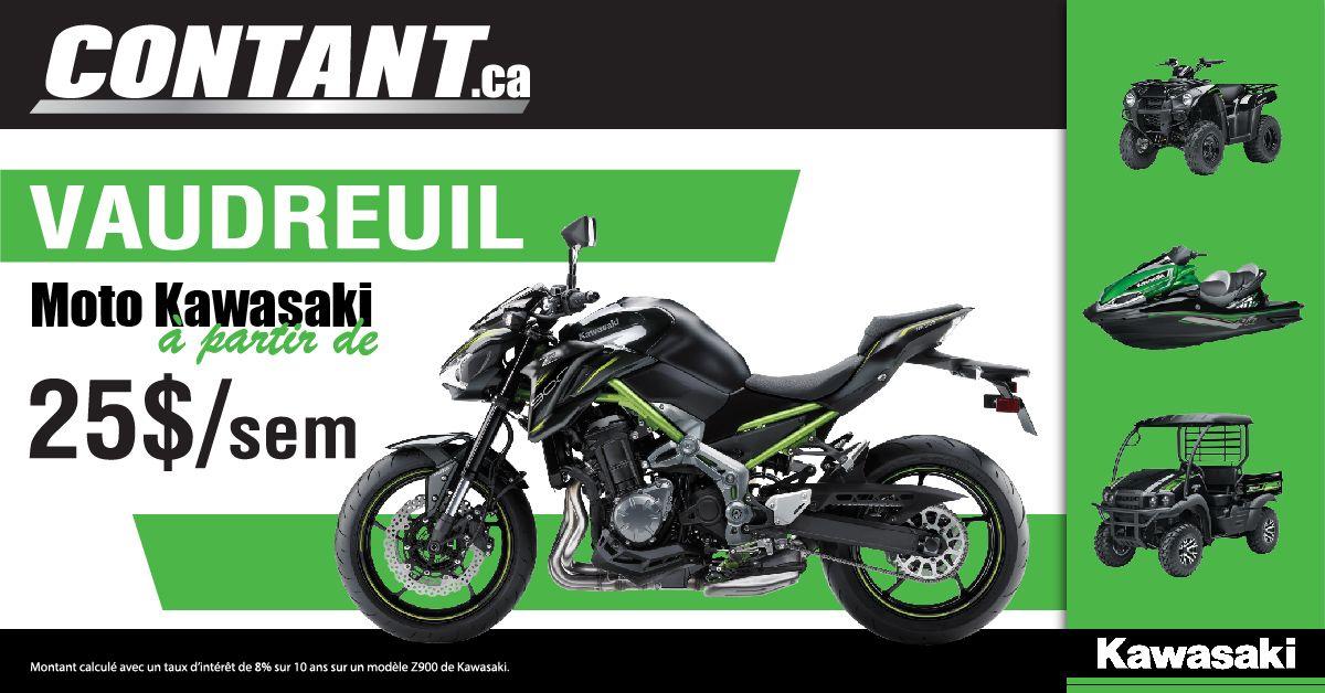 La gamme Kawasaki disponible à Vaudreuil