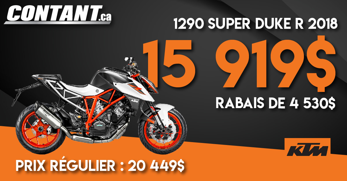 Promotion 1290 Super Duke R